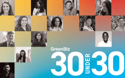 Congratulations to the sustainability leaders of today – and tomorrow